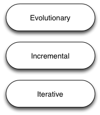 3 Styles: Iterative, Incremental and Evolutionary Agile (part 1)